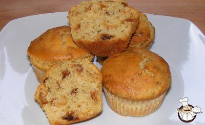 Riciclo (6) - Muffin di panettone (ricetta rivisitata).