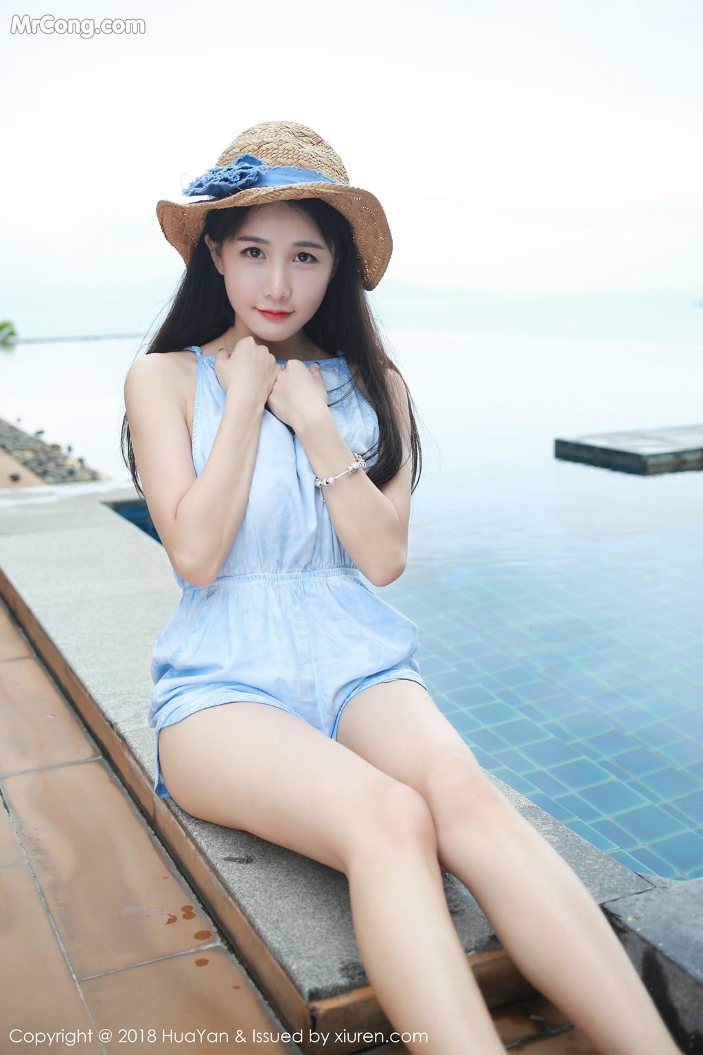 Image HuaYan-Vol.057-Xiao-Mo-Lin-MrCong.com-009 in post HuaYan Vol.057: Người mẫu Xiao Mo Lin (小沫琳) (41 ảnh)