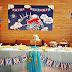 週歲趴 │餐桌布置‧氣球規劃‧海報設計‧餐上客製化小卡