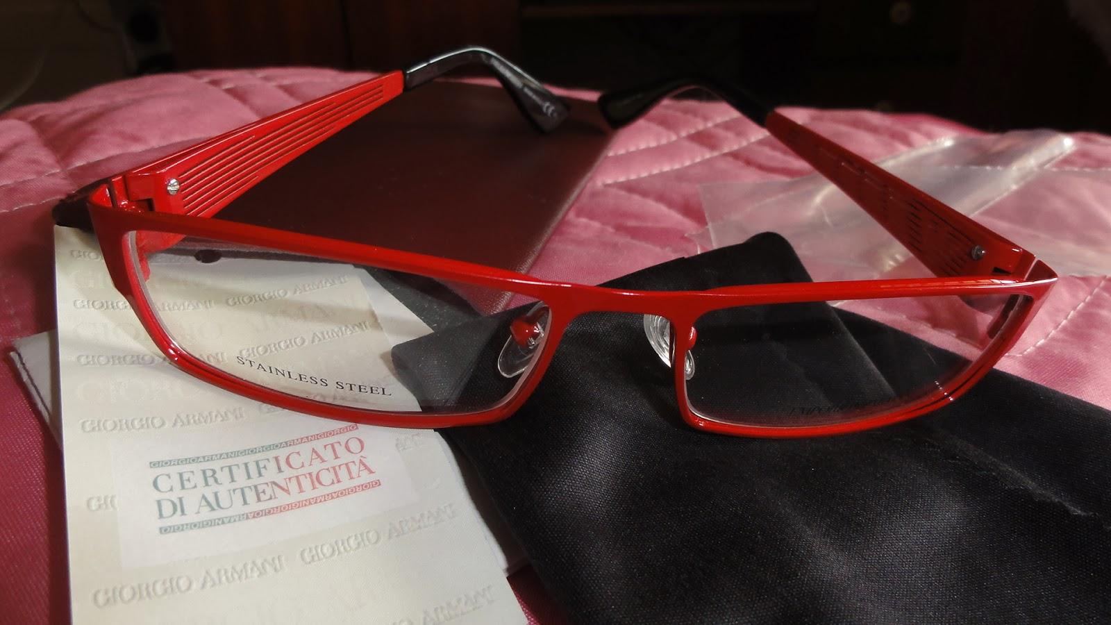 Óculos de grau Emporio Armani. Eu já comentei que compro os meus óculos de  grau no eBay e já até fiz um post sobre isso....Para quem tiver interesse,  ... 439769248d