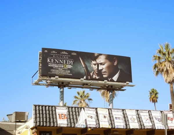 Killing Kennedy billboard