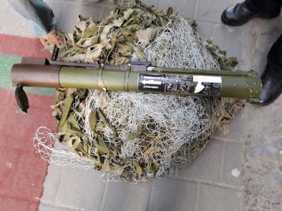 Патрульні затримали в центрі Львова чоловіка з використаним РПГ.