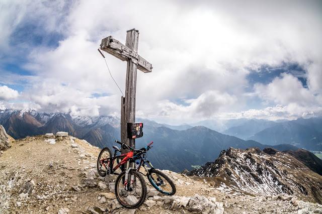 gipfeltour mäßig schwer mountainbike bike mtb