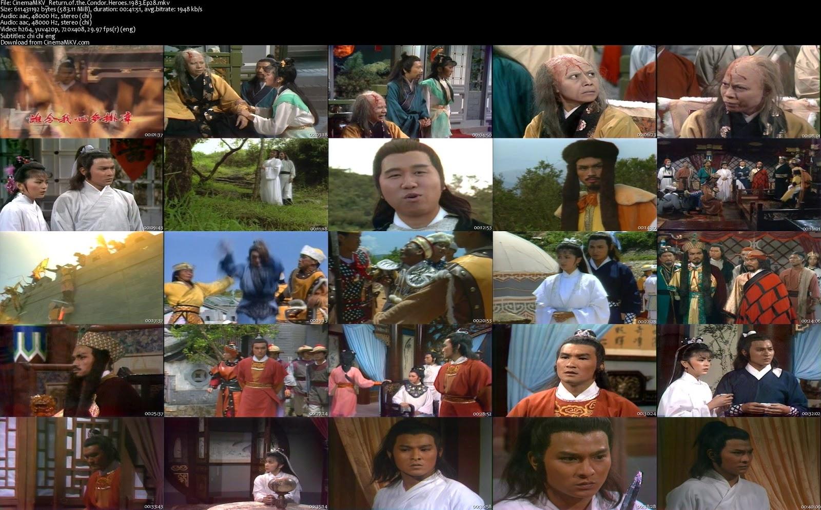 download film return of condor heroes 1983