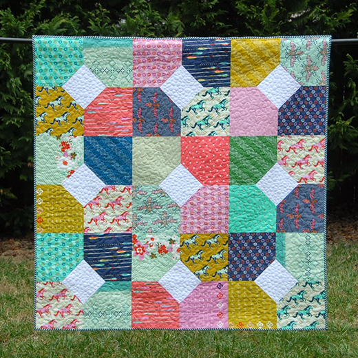 Layers of Charm Quilt free Pattern