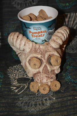 pumpkin dog treats