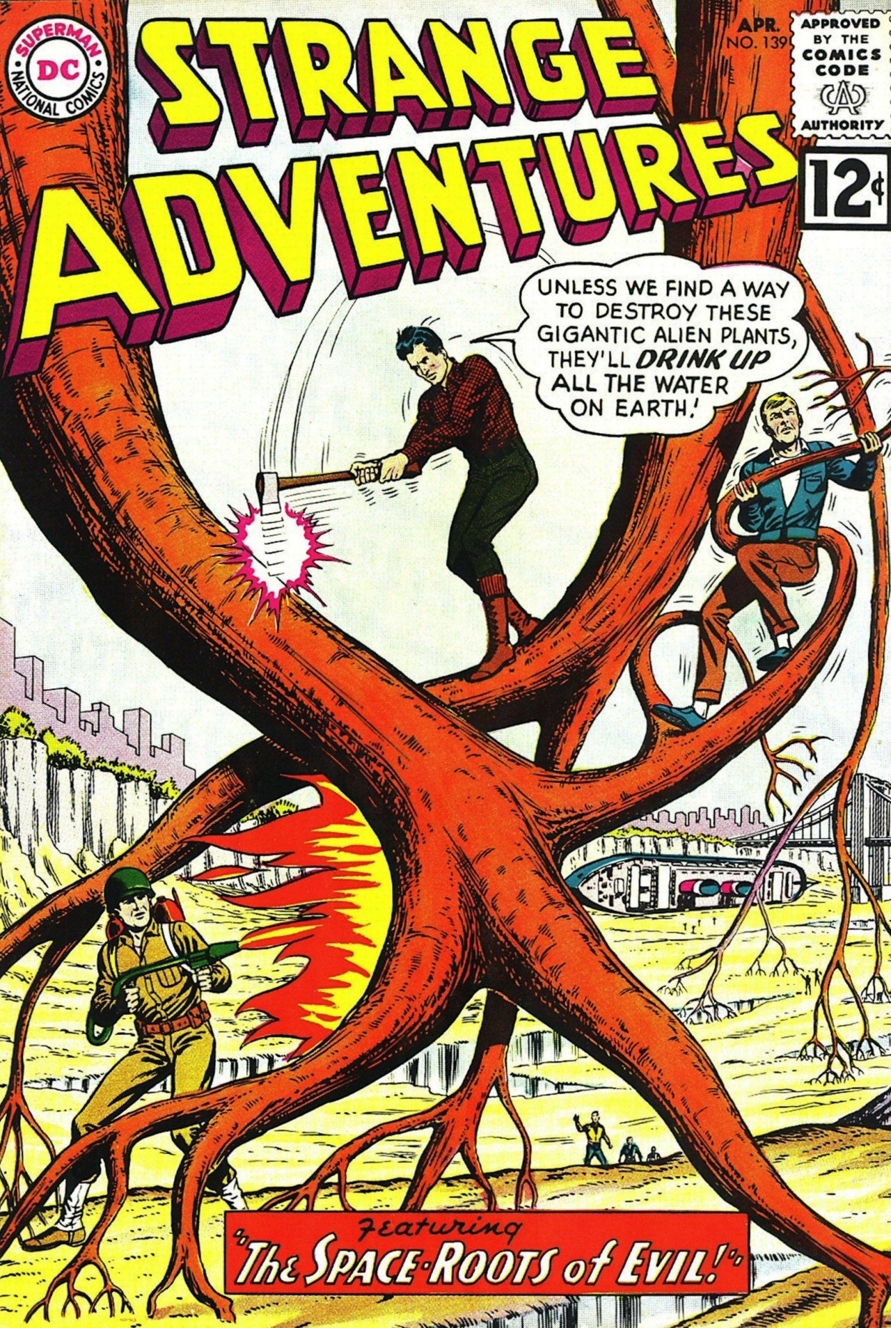 Strange Adventures (1950) issue 139 - Page 1
