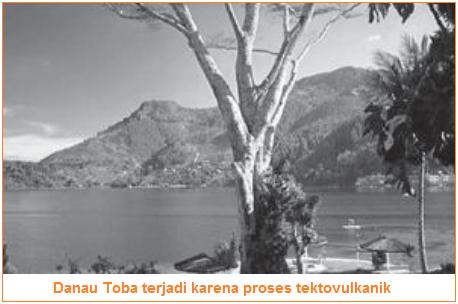 Contoh Danau Tektovulkanik - vulcano-tectonik - Danau Toba