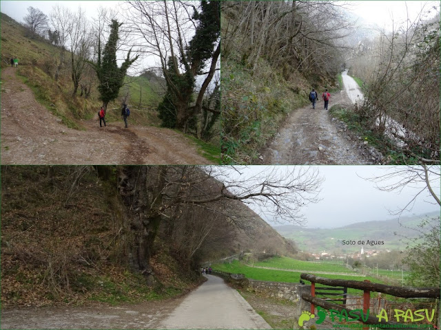 Ruta Sierra del Crespón: Bajada de Prieya a la Ruta del Alba