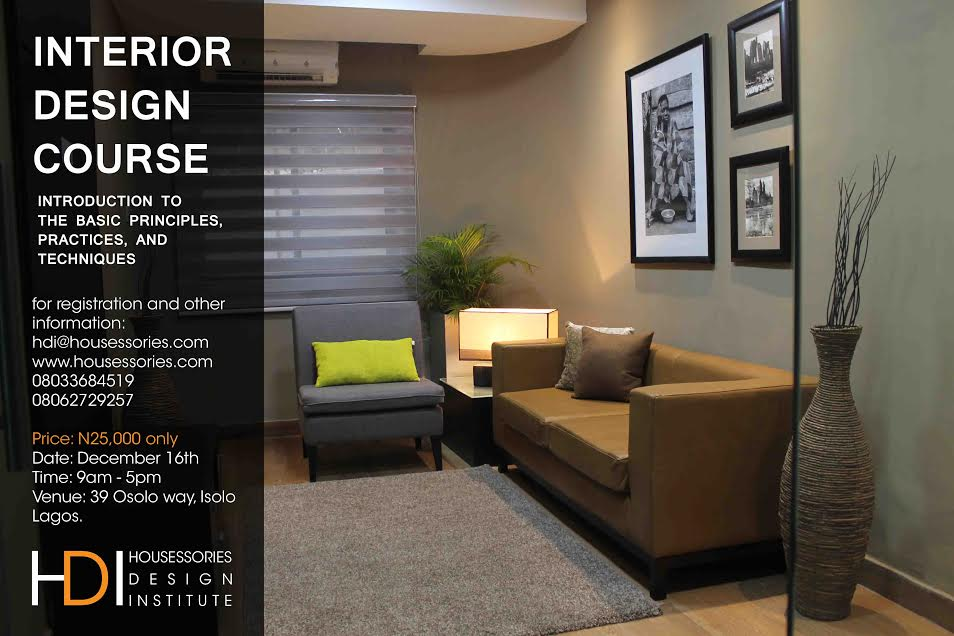 interior design course introduction to the basic principles