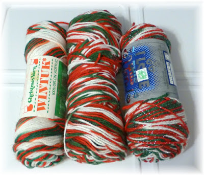Yarn Christmas Colors