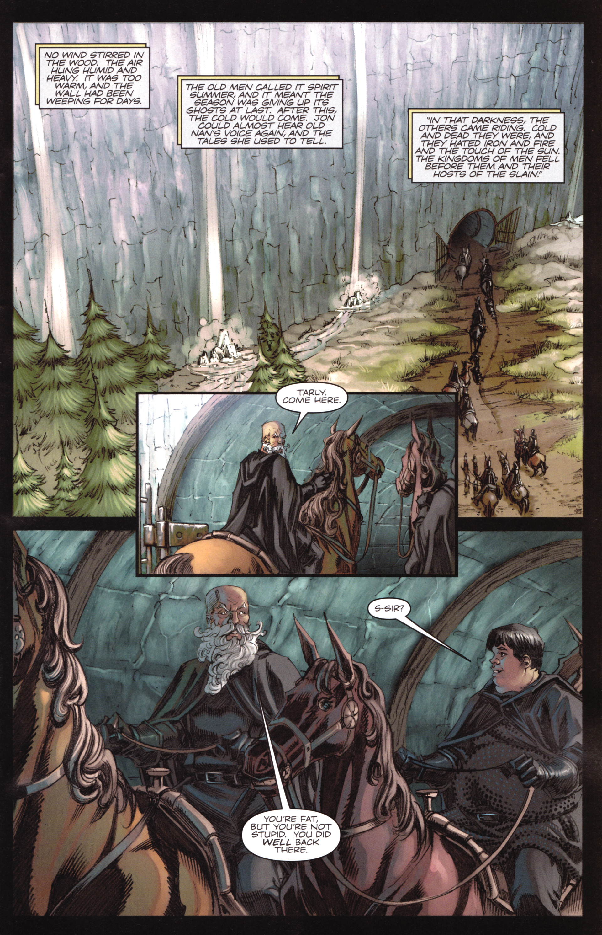 Read online A Game Of Thrones comic -  Issue #17 - 7