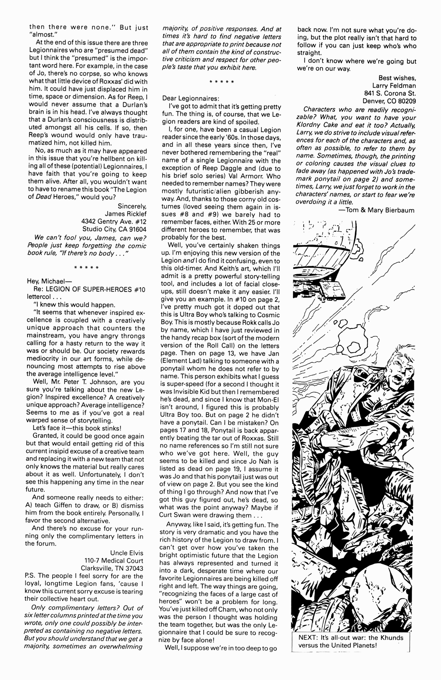 Legion of Super-Heroes (1989) 14 Page 26