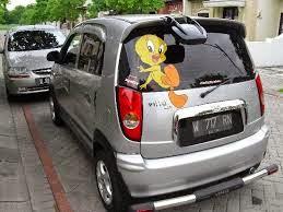 modifikasi mobil kia visto
