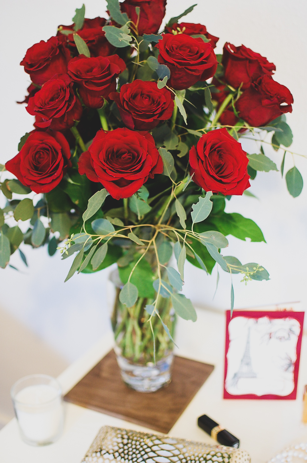 Roses Say I Love You On Valentine's Day