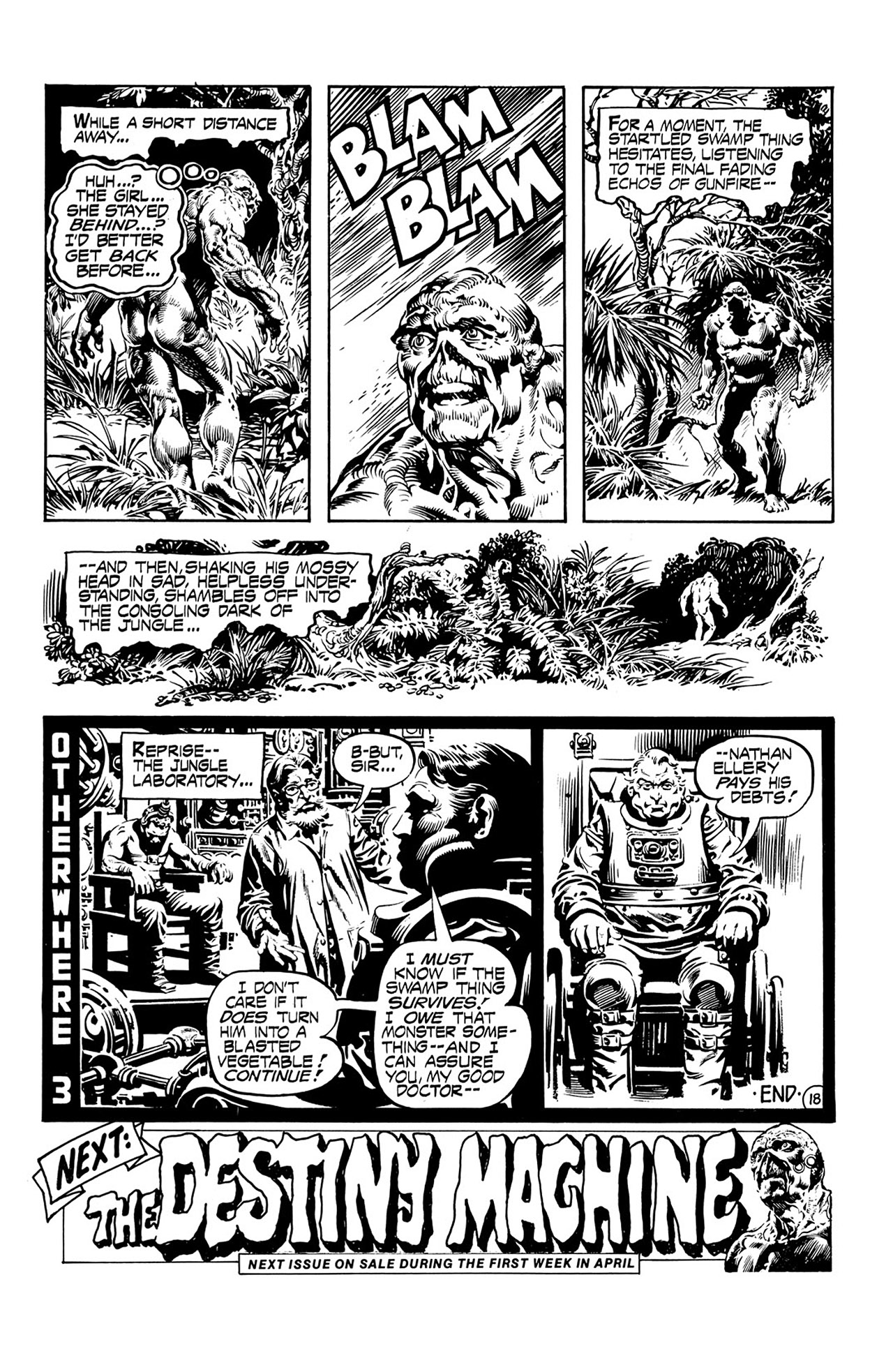 Swamp Thing (1972) Issue #16 #16 - English 19