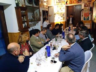 Cata de vinos renovados de la Cooperativa La Unión