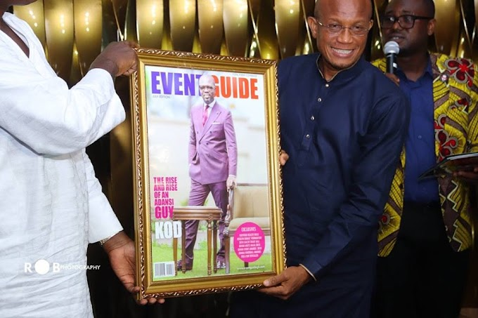 Photos: EventGuide Magazine unveils KOD as cover for July edition