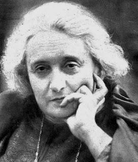 Retrato anónimo de María Guerrero, a edad avanzada