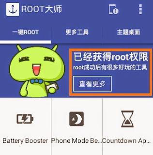 Android selesai diroot