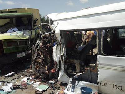 Man Delayed At The ATM Saves Him From Boarding Commercial Bus Involved In A Fatal Accident 35 Minutes After (Photos)