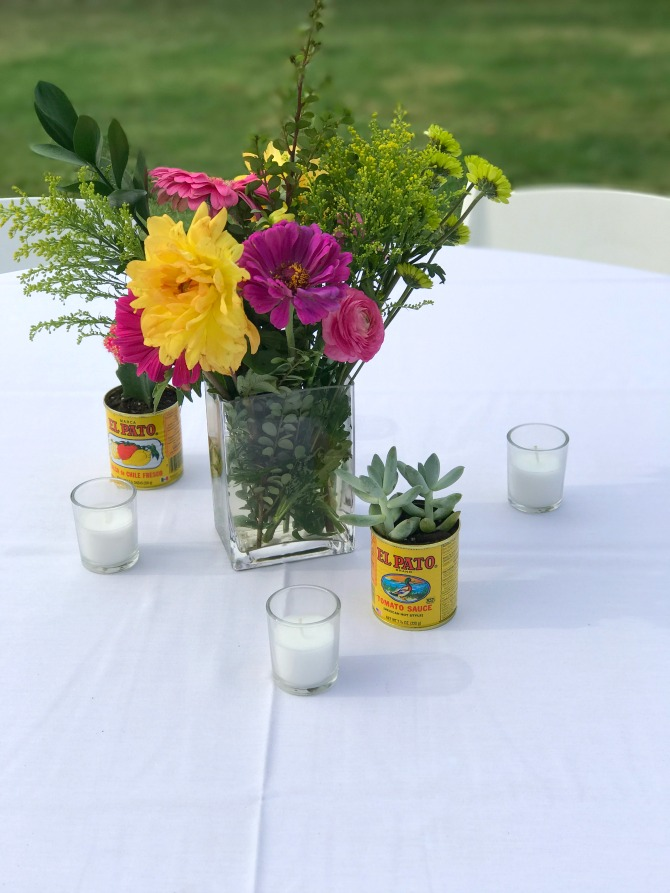 Fiesta Table Centerpieces