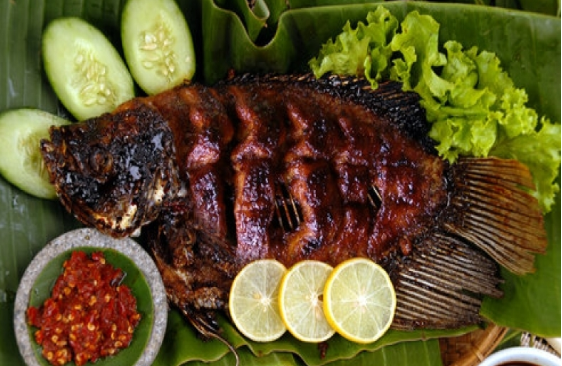 Resep Ikan Bakar Asam Pedas Enak