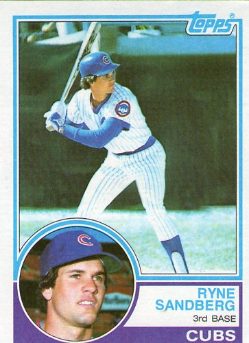 Donruss 1982 Baseball Price Guide History 1983 Topps Ryne