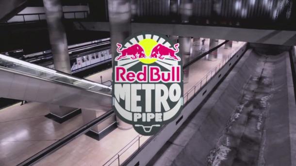 Red Bull Metro Pipe en la Estación de Chamartín
