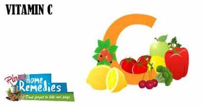 Home Remedies For Black Eye: Vitamin C