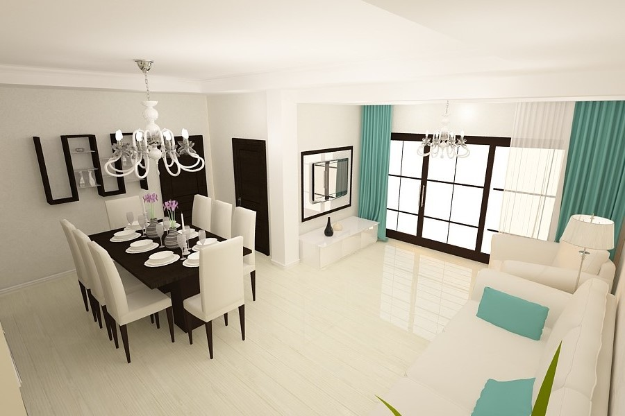 Arhitect interioare Constanta - Design interior living case moderne Constanta