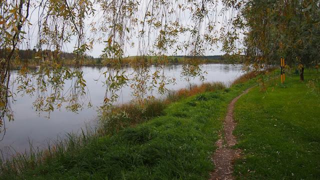 Pielisjoki jokimaisema rantapuisto