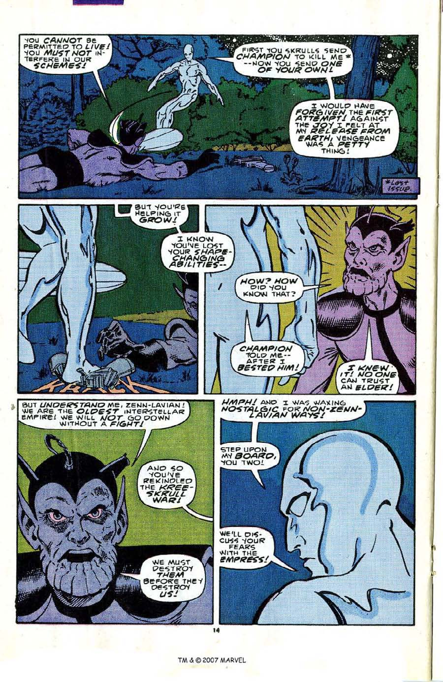 Read online Silver Surfer (1987) comic -  Issue #2 - 20