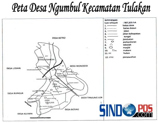 Profil Desa & Kelurahan, Desa Ngumbul Kecamatan Tulakan Kabupaten Pacitan