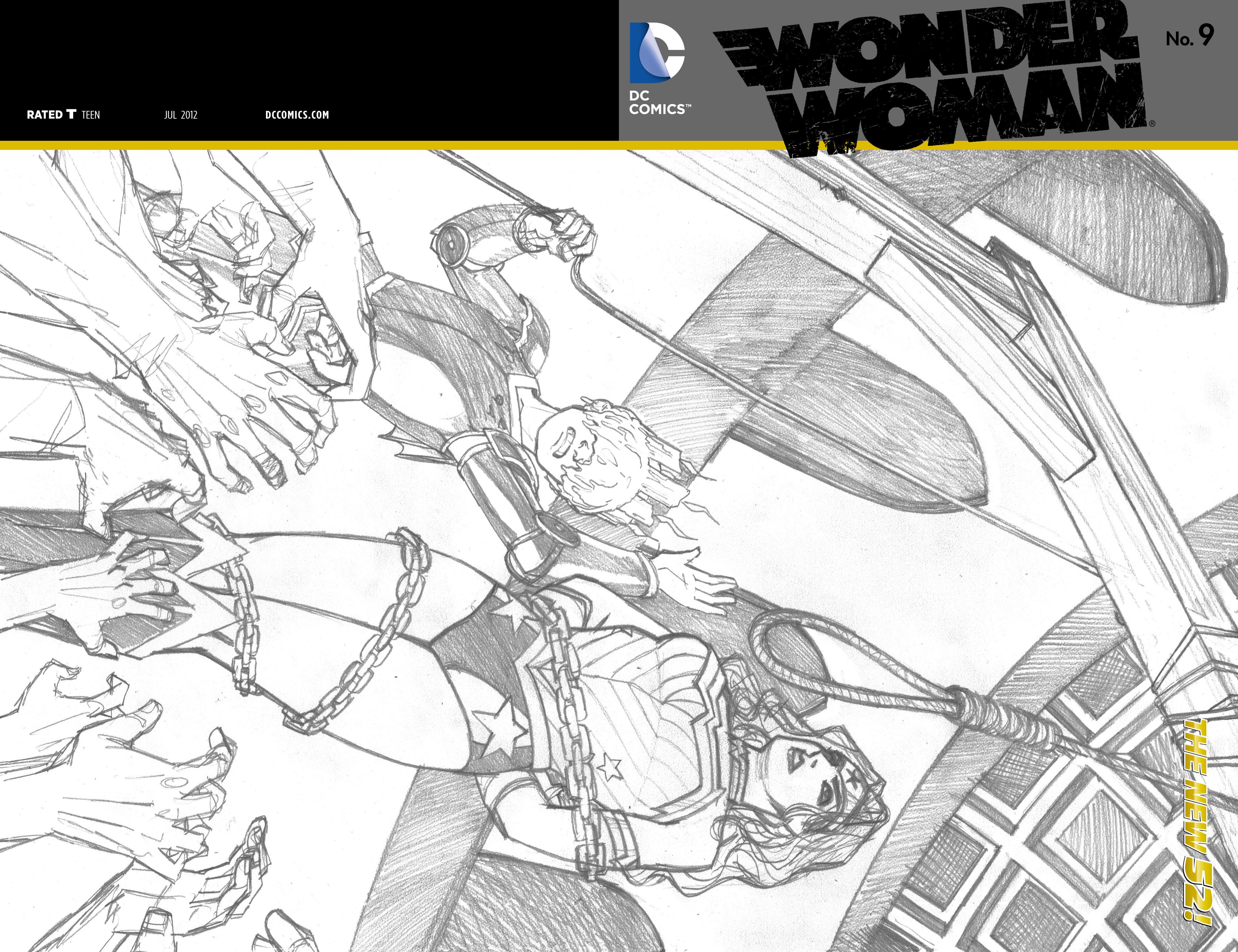 Read online Wonder Woman (2011) comic -  Issue #9 - 21