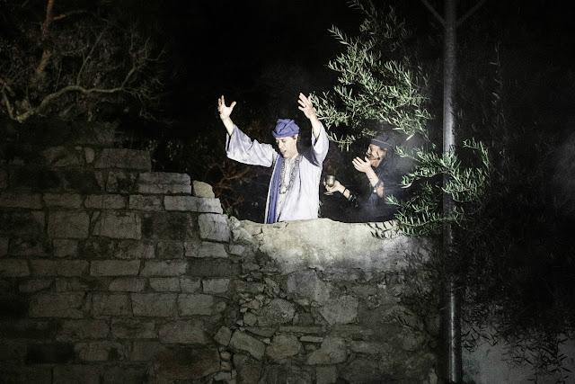 Moura Encantada voltou a ser vista nas muralhas do Castelo de Tavira