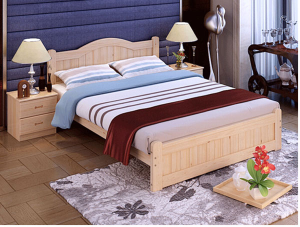 Giường ngủ thông minh, giường ngủ gỗ sồi đẹp hiện đại