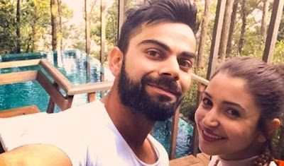 Virat kohli honeymoon photos and images with anushka