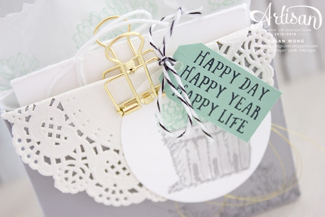 Basket of Wishes 3x3 Gift Set ~ Susan Wong