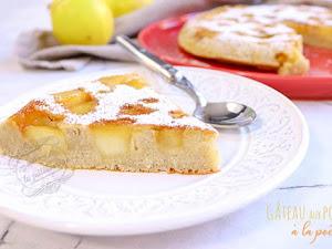 Gâteau aux pommes à la poêle (sans four)