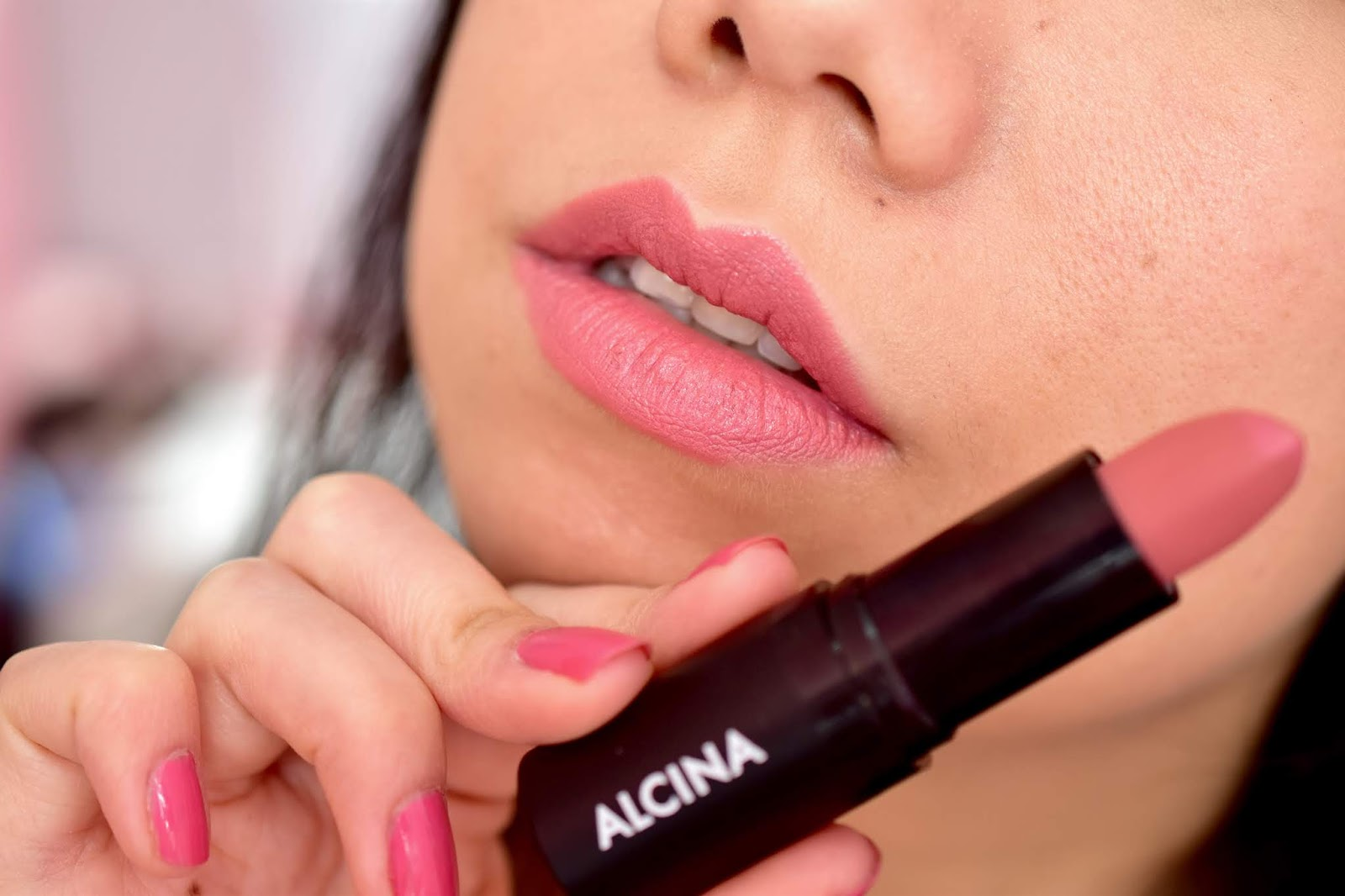 Alcina Matt Lip Colour Tea Rose