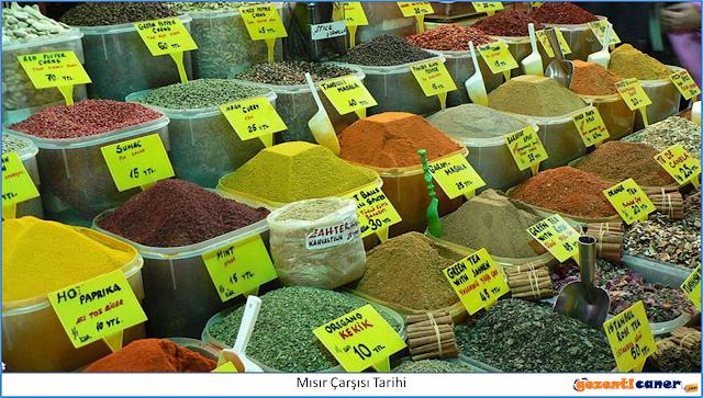 Mısır Çarşısı Baharatçılar