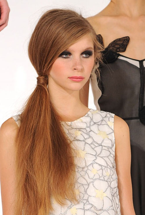 Fashion Trends Reports Ponytail Hairstyles 2013 14 Low