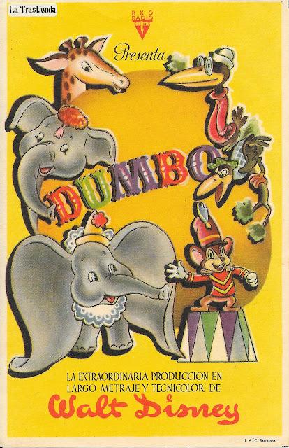Programa de Cine - Dumbo - Walt Disney (1941)