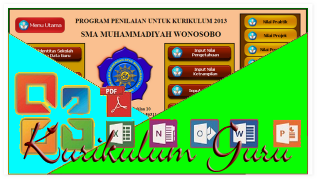 Download Program Nilai Dan Raport Kurikulum 2013