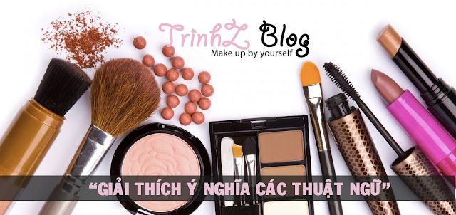 tự học makeup qua các thuật ngữ