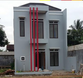 rumah murah pamulang 2 lantai