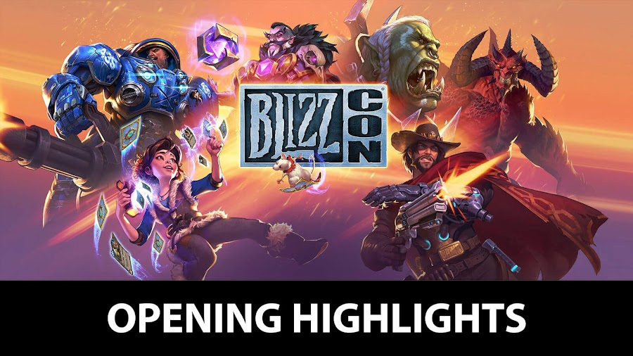 blizz con 2018 opening ceremony highlight