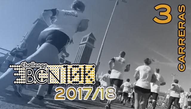 ChallengeBCN10k 2017/18 - 3 carreras