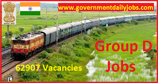 RRC CEN 02/2018 Notification Apply Online for Railway Group D Jobs